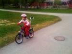 Ida kan cykla